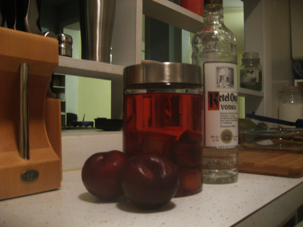 A Plum Infusion