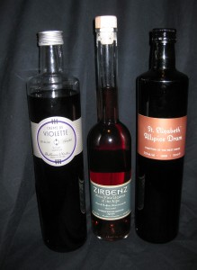 Three of Haus Alpenz spirits